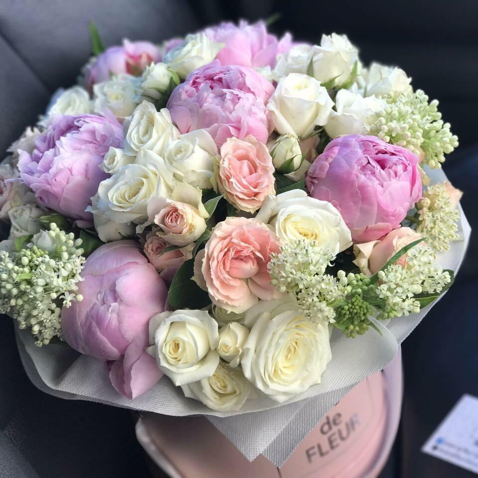 Composition of pions - Bloom de Fleur - Bouquets, flowers, order and ...